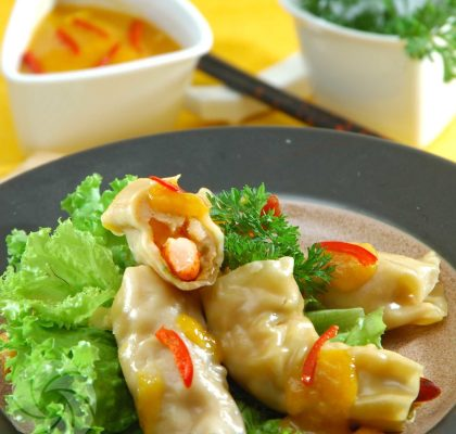 resep siomay udang saus mangga