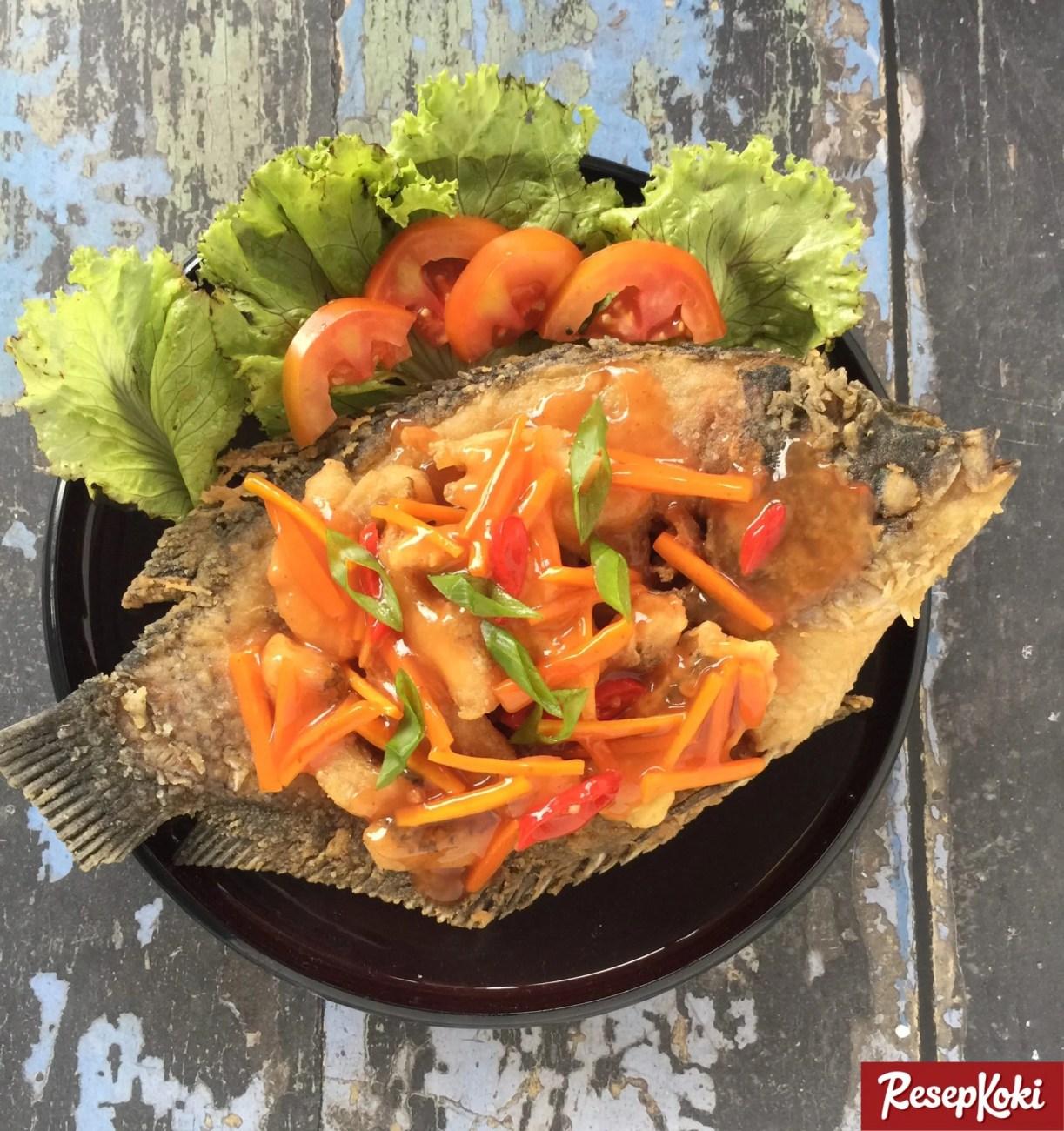 Ikan Gurame (Fillet) Asam Manis Juara - Resep   ResepKoki