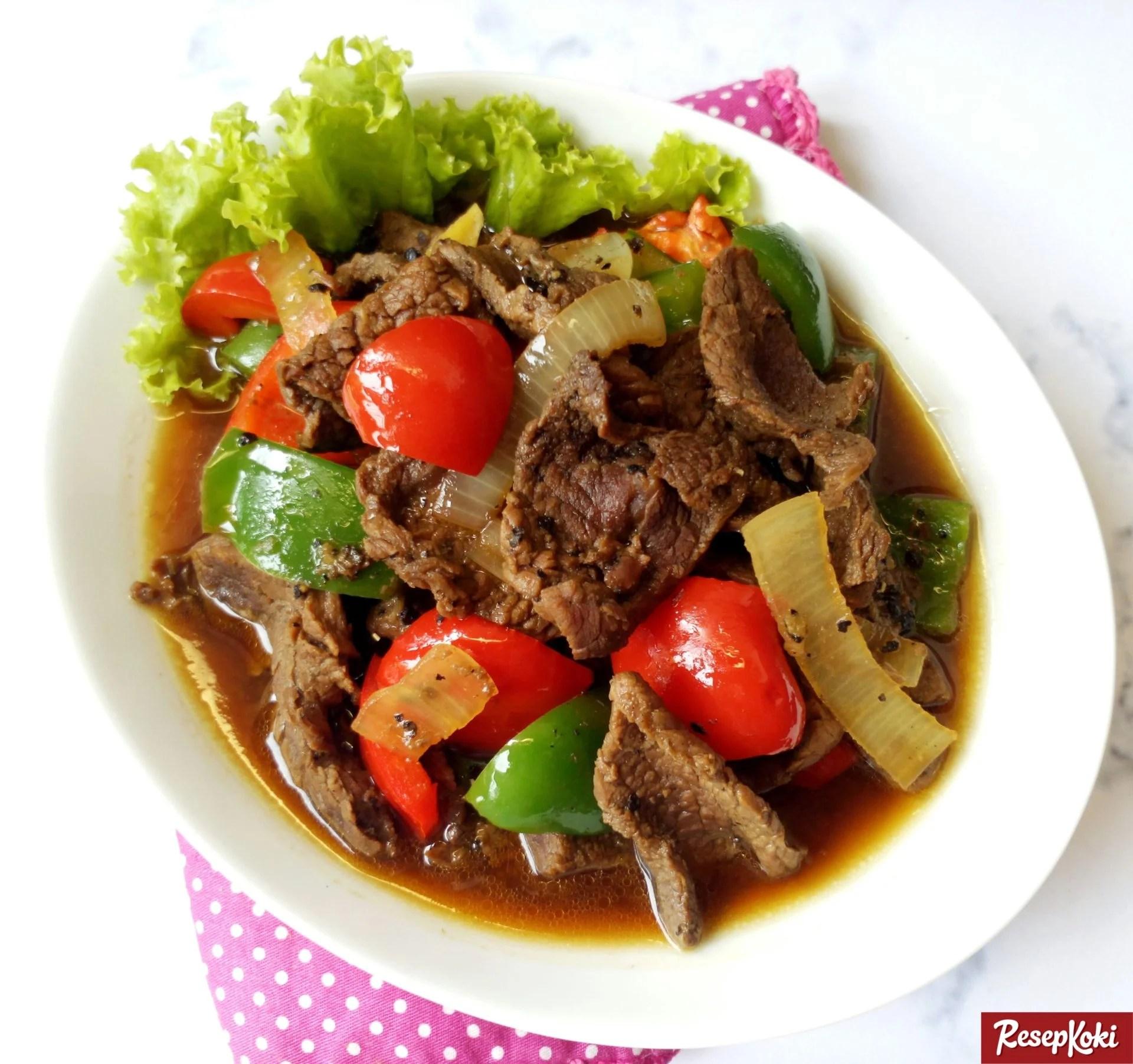 Resep Sapi Daging Lada Hitam