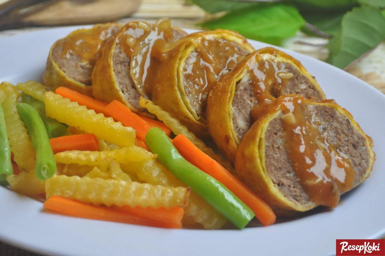 rolade daging sapi