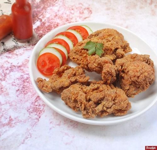 Gambar Hasil Membuat Resep Ayam Goreng KFC Krispi