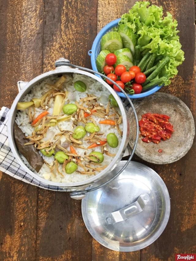 Gambar Hasil Membuat Resep Nasi Liwet Sunda