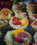 Resep Pie Vla Buah Mini (Fruit Tartlet)