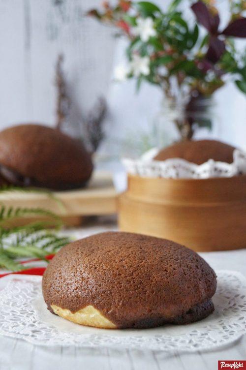 Gambar Hasil Membuat Resep Roti Boy (Mocha Bun)