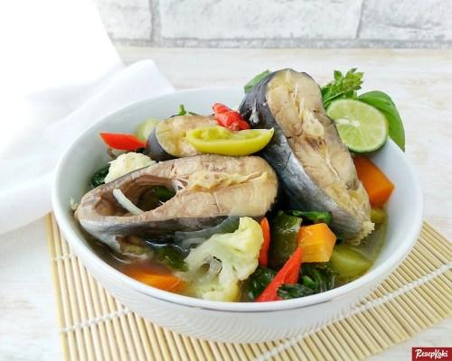 Gambar Hasil Membuat Resep Sup Ikan Patin