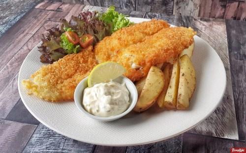 Gambar Hasil Membuat Resep Fish and Chips