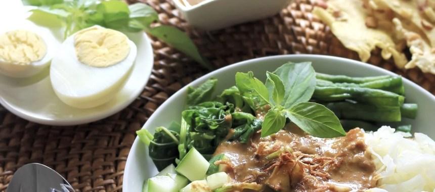 Resep Pecel Sayur