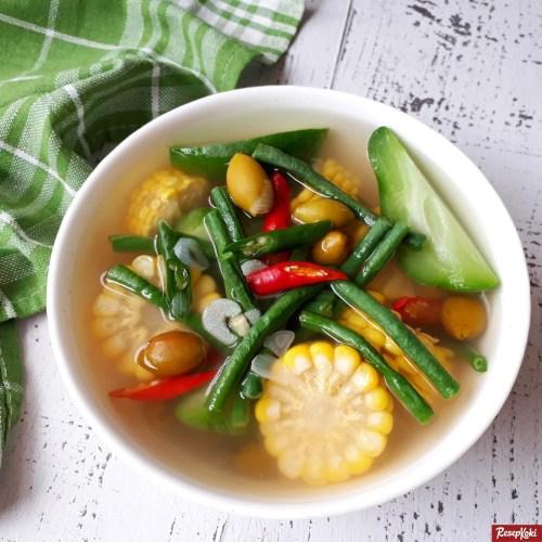 Gambar Hasil Membuat Resep Sayur Asem Jawa Tengah