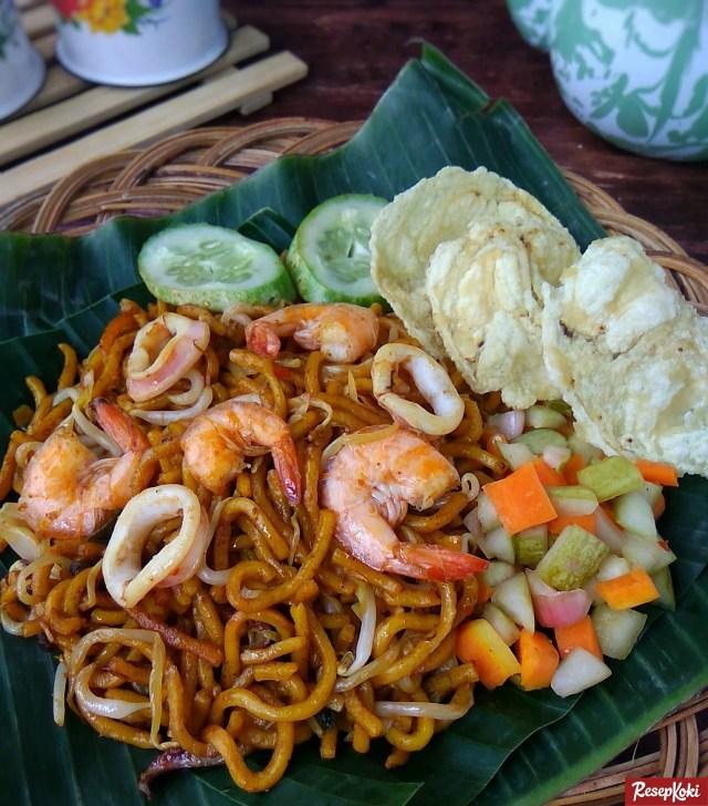 Gambar Hasil Membuat Resep Mie Goreng Aceh