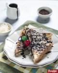 Resep Roti Bakar Keju Coklat