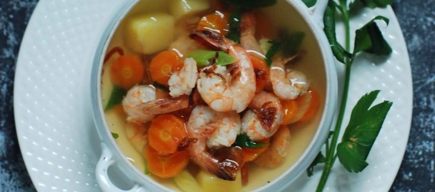 Resep Sup Udang