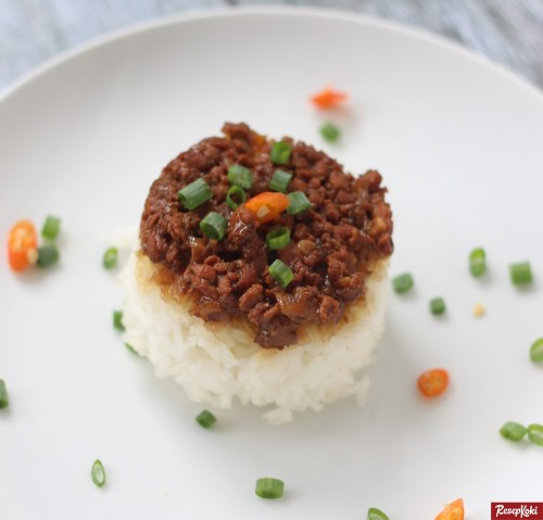 Gambar Hasil Membuat Resep Nasi Tim Ayam