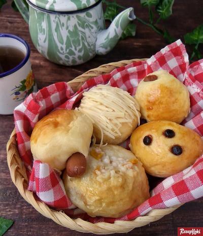 Gambar Hasil Membuat Resep Roti Unyil