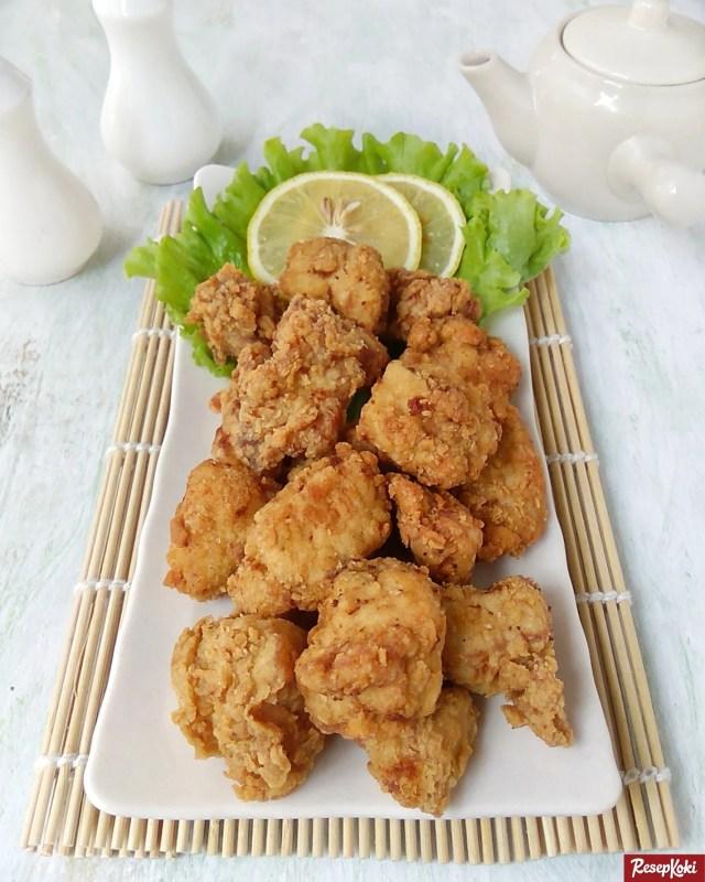 Gambar Hasil Membuat Resep Ayam Karage