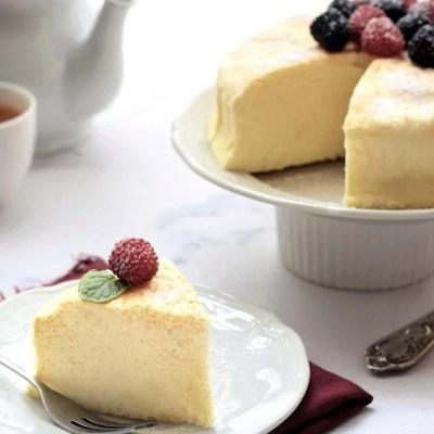 Japanese cheese cake lembut