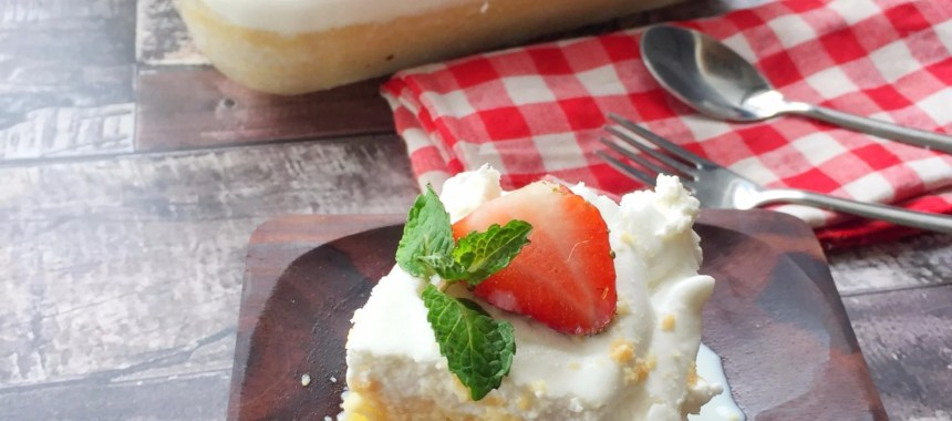 Resep Milk Bath Cake (Tres Leches)