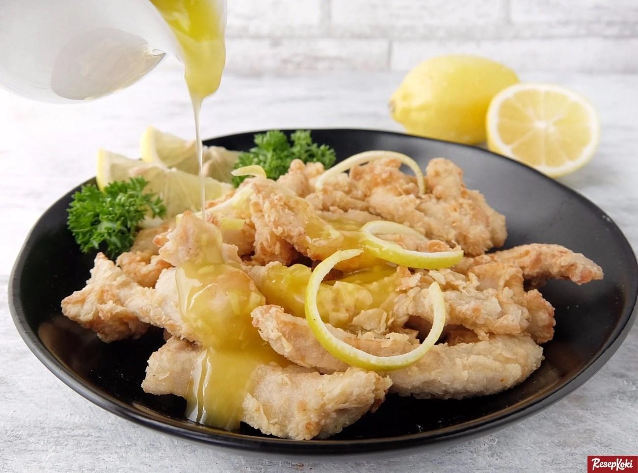 Resep Ayam Saus Lemon