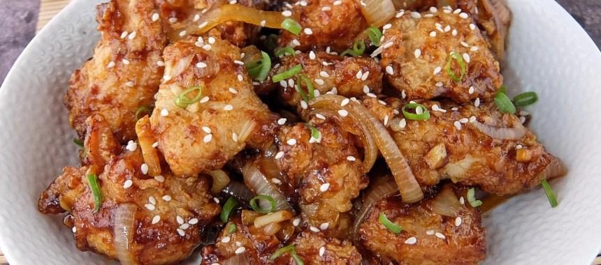 Resep Ayam Wijen Saus Mentega