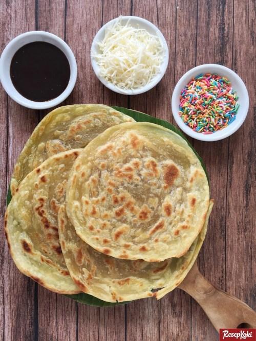 Gambar Hasil Membuat Resep Roti Maryam