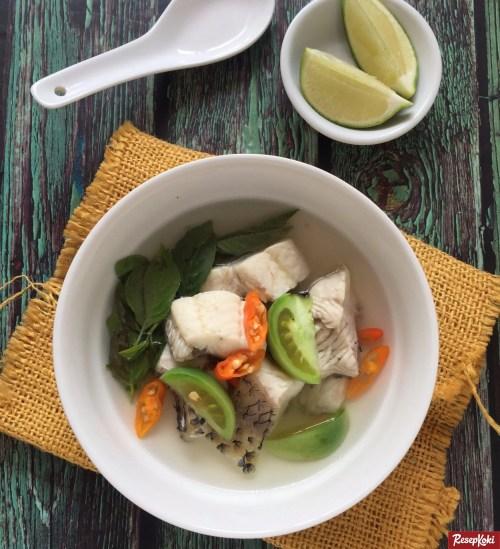 Gambar Hasil Membuat Resep Sup Ikan Gurame