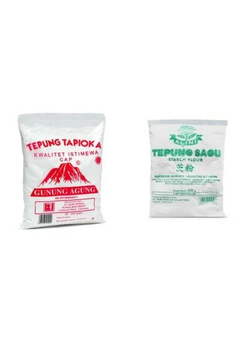 Apakah Tepung Tapioka Sama Dengan Tepung Sagu : apakah, tepung, tapioka, dengan, Bedanya?, Tepung, Tapioka, Kegunaannya
