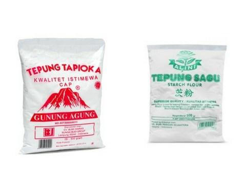 Apa Bedanya? Tepung Sagu vs Tepung Tapioka dan Kegunaannya
