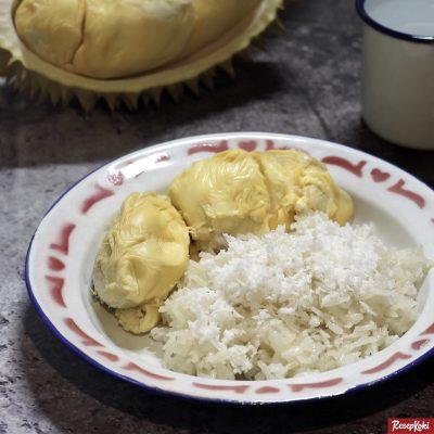 Gambar Hasil Membuat Resep Ketan Durian