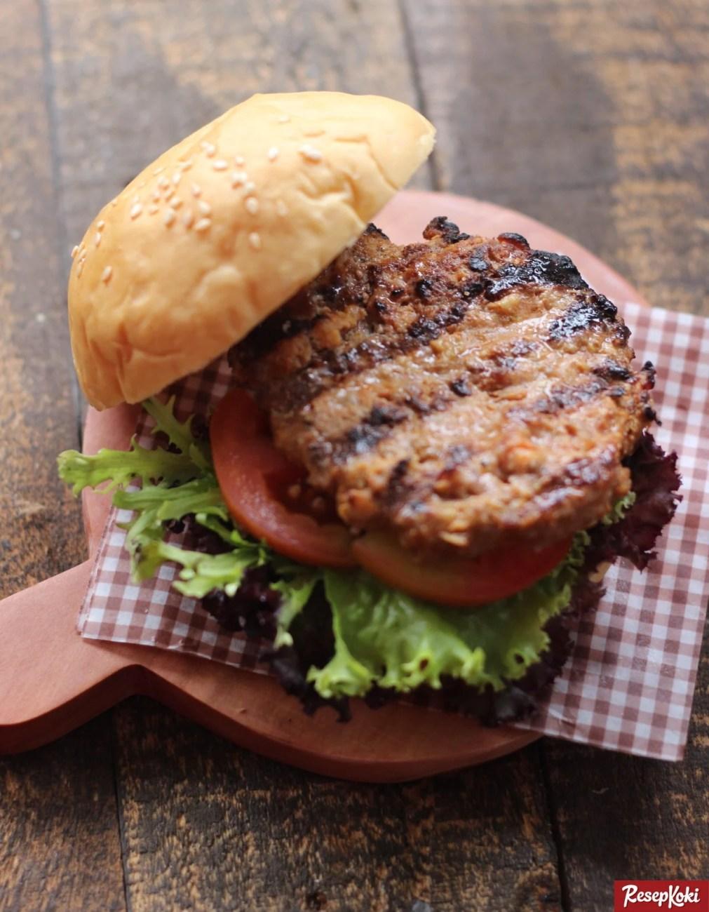 Hamburger Daging Lezat Mudah Dan Praktis Resep Resepkoki