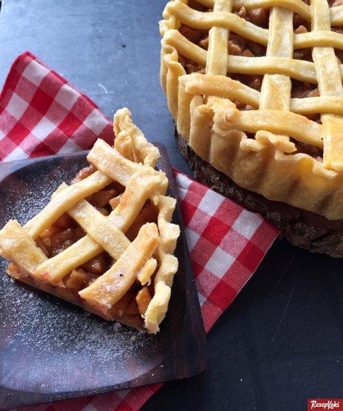 Gambar Hasil Membuat Resep Apple Pie