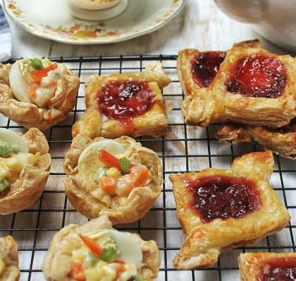 puff pastry gurih renyah