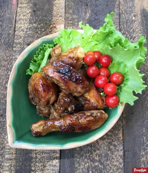 Gambar Hasil Membuat Resep Ayam Bakar Madu