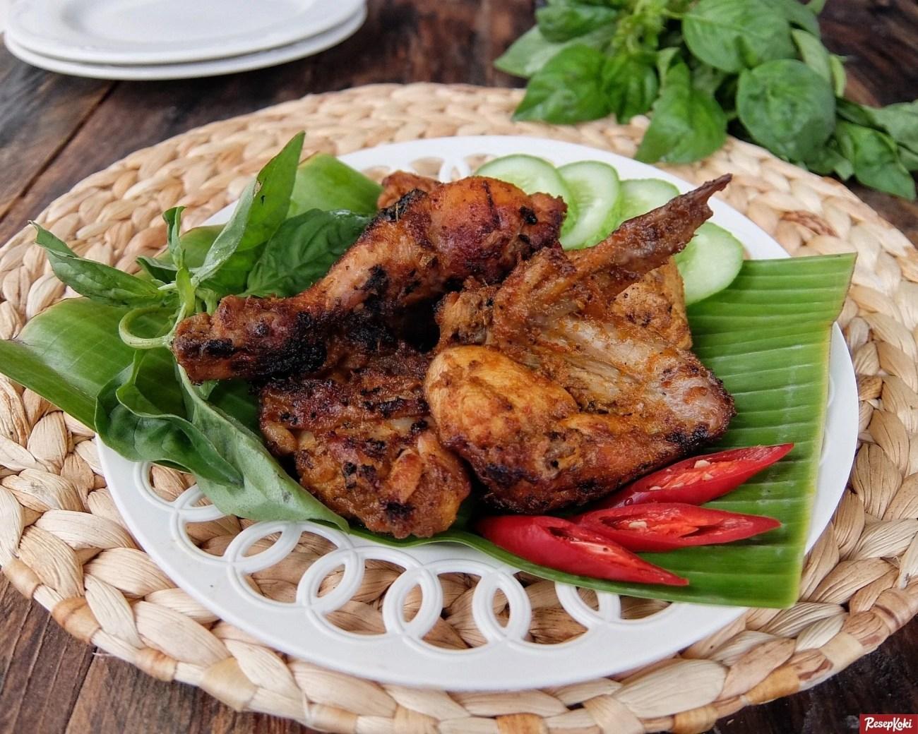 Ayam Bakar Padang Penuh Bumbu Sedap Praktis Resep Resepkoki