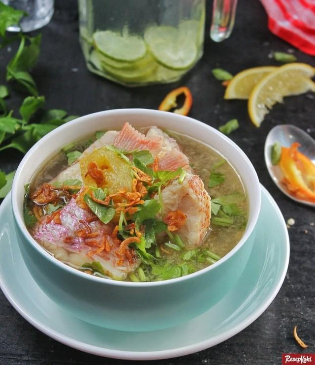 Gambar Hasil Membuat Resep Sup Ikan Kakap
