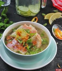 sup ikan kakap berbumbu