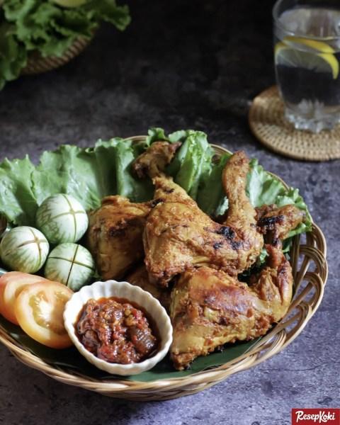 Gambar Hasil Membuat Resep Ayam Goreng Kalasan