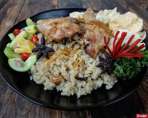 Gambar Hasil Membuat Resep Nasi Kebuli Ayam