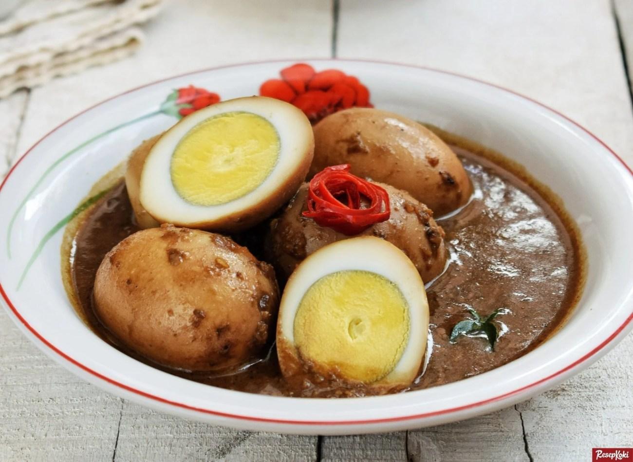 Resep Telur Petis