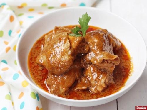 Gambar Hasil Membuat Resep Rendang Ayam