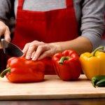 4 Langkah Memotong Paprika dengan Mudah