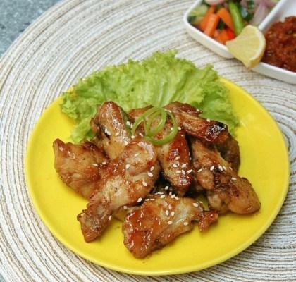 ayam panggang madu legit