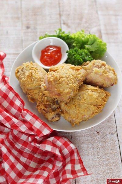 Gambar Hasil Membuat Resep Ayam Goreng Tepung