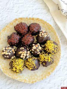 coklat truffle manis