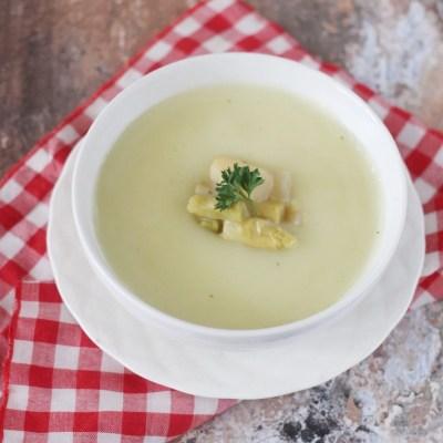 sup asparagus krim ayam simpel