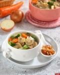 Resep Sup Jamur Kancing