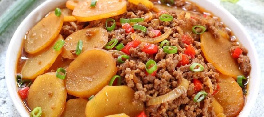 kentang daging cincang lezat  mudah dibuat resep resepkoki Resepi Daging Masak Bistik Enak dan Mudah