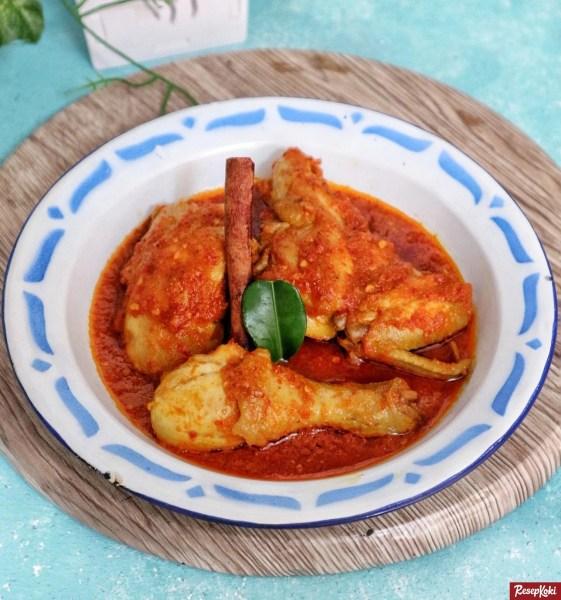 Gambar Hasil Membuat Resep Ayam Bumbu Rajang (Khas Lombok)
