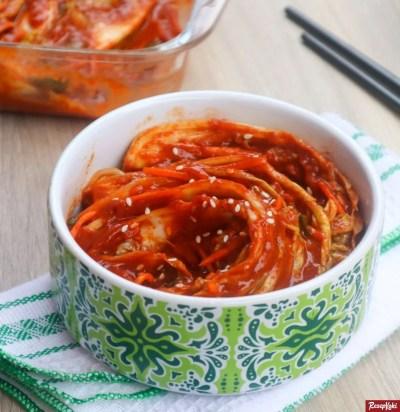 Gambar Hasil Membuat Resep Kimchi
