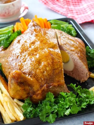 Gambar Hasil Membuat Resep Ayam Kodok