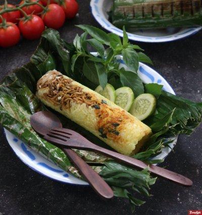 Gambar Hasil Membuat Resep Nasi Bakar Bandung Sunda