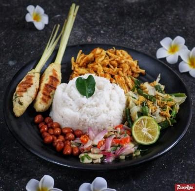 Gambar Hasil Membuat Resep Nasi Campur Bali